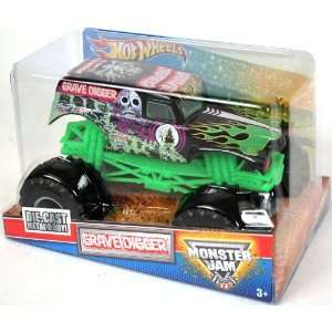 24 Scale (Large Truck) Hot Wheels Monster Jam Truck with Monster