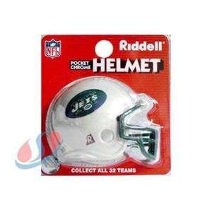 New York Jets Chrome Pocket Pro NFL Helmet