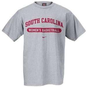 Nike South Carolina Gamecocks Ash Womens Basketball T