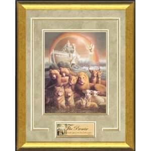 Christian Framed Art by William Hallmark   The Promise 13 x 16