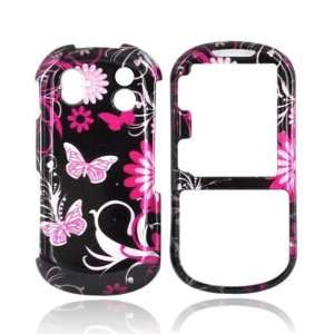For Samsung Intensity 2 Hard Case Cover PINK FLOWERS