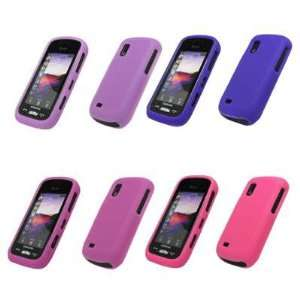 Cases (Pink, Hot Pink, Purple, Light Purple) for Samsung Solstice A887