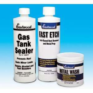 Eastwood Motorcycle Cycle Gas Fuel Tank Sealer Kit Automotive