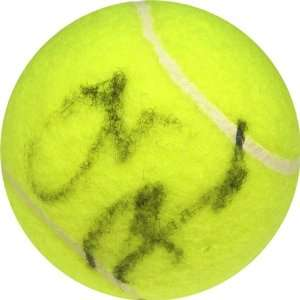 Autographed/Hand Signed Tennis Ball