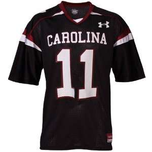 com Under Armour South Carolina Gamecocks #11 Black Replica Football