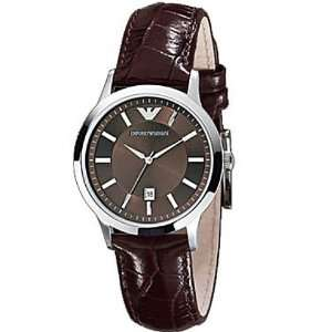 Armani Ladies Watch Womens Leather Strap AR2414   4 2 Electronics