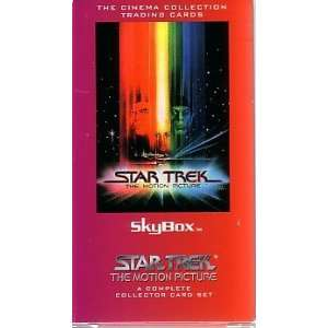 Star Trek THE MOTION PICTURE SKYBOX Cinema Collection Trading Cards