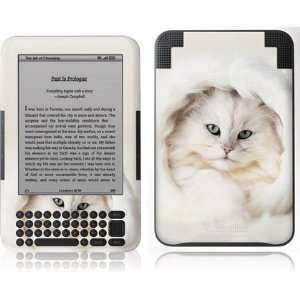 White Persian Cat skin for  Kindle 3