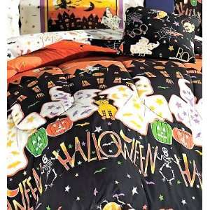 Haunted House   Halloween   8pc BED IN A BAG   Full Comforter Bedding