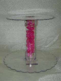 12 Tier Clear Acrylic Cupcake Cake Centerpiece Stand