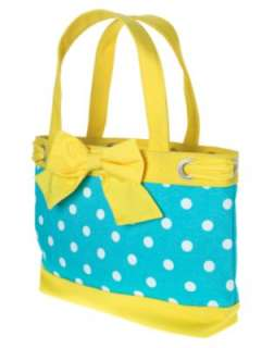 NWT GYMBOREE HAPPY RAINBOW POLKADOT TOTE BAG PURSE SWIM
