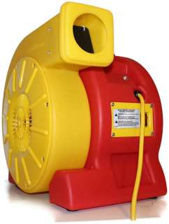 Air Hawk Inflatable Bounce House Air Blower Fan Inflating Motor