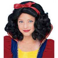 Child Std. Girls Snow White Wig   Princess Costume Wigs