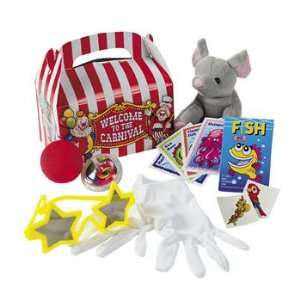 Big Top Filled Treat Box   Party Favor & Goody Bags & Filled Treat