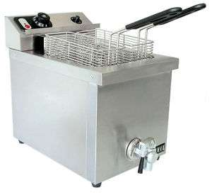 40709 15lb Commercial Electric Deep Fryer 220V 029419718894