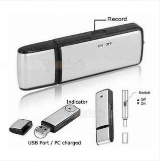 Voice Recorder Pen Dictaphones USB Flash Memory Drive Disk