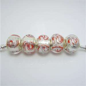 Beauty Murano Glass Beads fit European Charm Bracelet #03