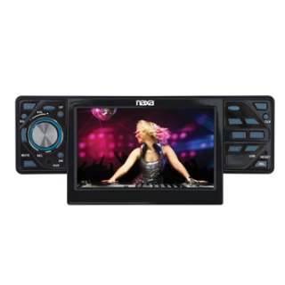 NAXA TOUCH SCREEN STEREO CAR RADIO CD/DVD/ PLAYER RECEIVER USB/SD