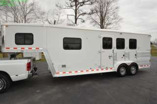 X340 THREE HORSE TRAILER 2005 KEIFER X340 THREE HORSE TRAILER