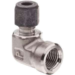 Parker CPI 4 4 DBZ SS 316 Stainless Steel Compression Tube Fitting, 90