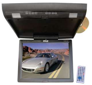 LCD Flipdown Roof Mount Car/Truck SUV Monitor w/DVD Player