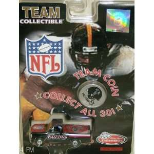 Atlanta Falcons 1998 White Rose NFL Diecast 164 Scale
